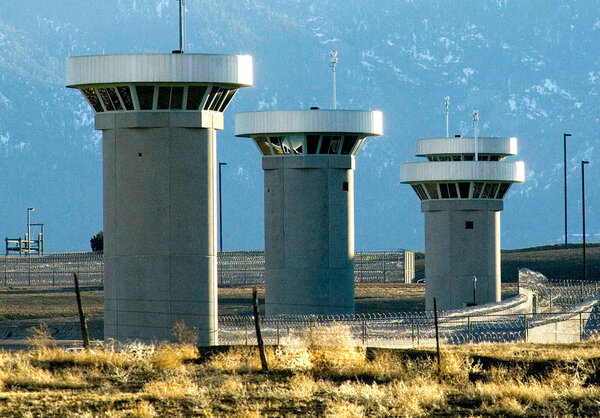 """Security: The supermax federal penitentiary in Florence, Colo., which Mr. Carlson established as a model for housing""""the worst of the worst."""""""