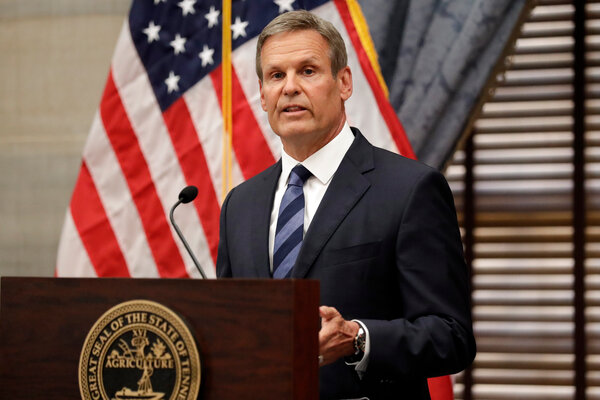 """""""We saw lawlessness that needed to be addressed immediately,"""" Gov. Bill Lee said."""