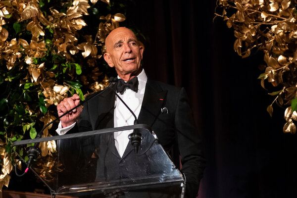 Thomas Barrack, who was the chairman of President Trump's inauguration gala and has donated at least $721,000 to Mr. Trump or his political causes in the last year, has been unable to keep up with nearly $2 billion in Wall Street debt.
