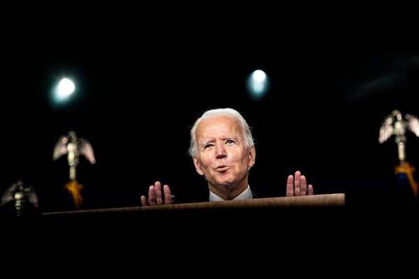 Joseph R. Biden Jr., the Democratic presidential nominee, has said that if he were elected, he would roll back Mr. Trump's immigration policies.