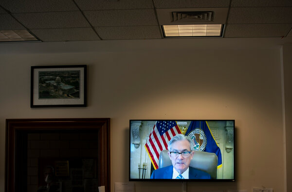 The once-exclusive Jackson Hole economic symposium will be streamed online this year and will feature a speech by Jerome H. Powell, the chair of the Federal Reserve.