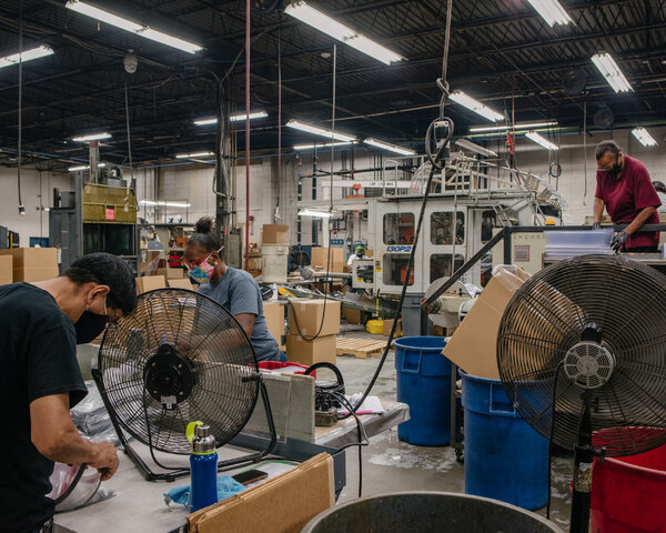 Maryland Thermoform in Baltimore has been trying to hire entry-level machine operators or warehouse workers, paying $12 to $15 an hour.