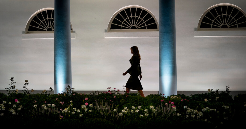 Photo of Melania Trump Reportedly Used Her Personal Email for Government Business
