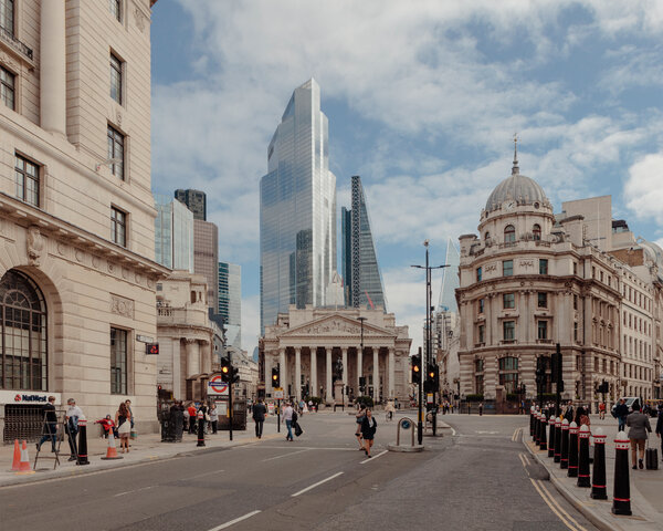 Before the pandemic, half a million people commuted daily to the City of London, a financial and legal hub.