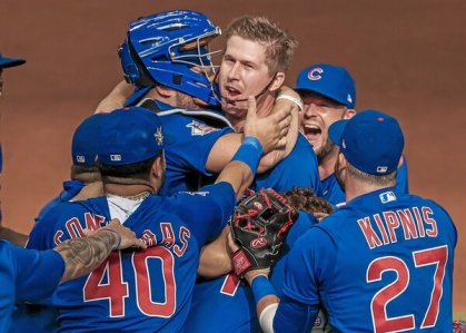 Cubs' Alec Mills Throws a No-Hitter Against the Brewers - The New York Times
