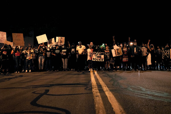 Protesters have staged daily demonstrations in Rochester, N.Y., since police bodycam videos of Daniel Prude's encounter with officers were released this month.