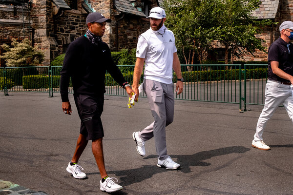Tiger Woods will be paired with Dustin Johnson, theNo. 1 seed.