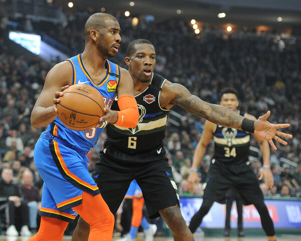 The Milwaukee Bucks might be interested in trading for Chris Paul, who had an impressive season with the Oklahoma City Thunder.