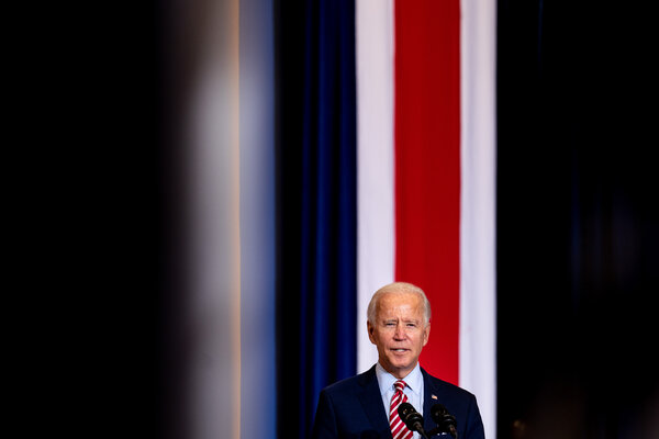 Joe Biden, the Democratic presidential nominee, speaks at a campaign event for Hispanic Heritage Month at Osceola Heritage Park in Kissimmee, Fla.