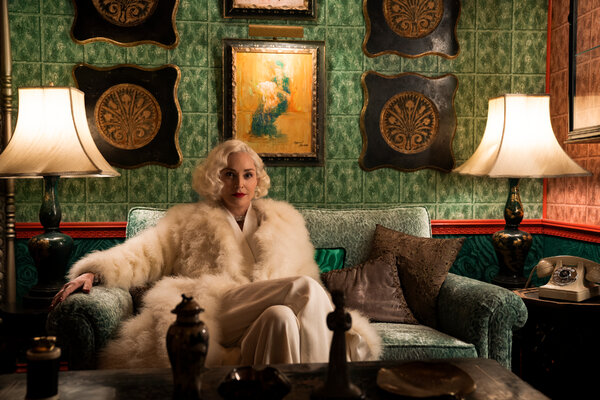 A notably deep cast includes Sharon Stone as an eccentric heiress.