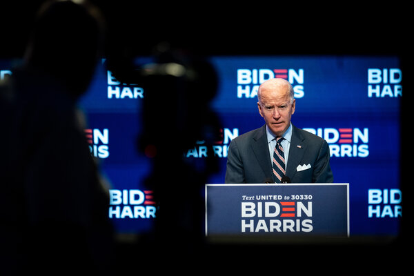 The Biden campaign did not dispute that Joseph R. Biden Jr. would raise taxes, but insisted that taxes would not increase for those making less than $400,000 a year.