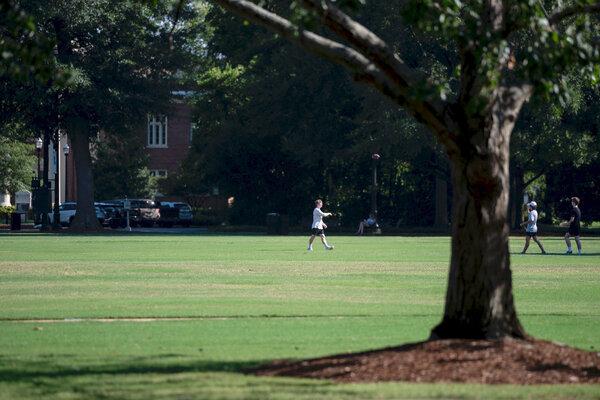 The University of Alabama campus in Tuscaloosa.