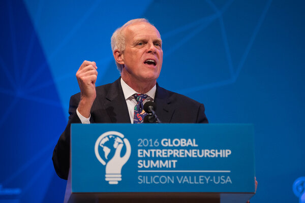 The Turing winners endorsing Mr. Biden include John Hennessy, the executive chairman of Alphabet and the former Stanford president.