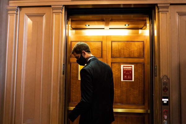 """Senator Tom Cotton, Republican of Arkansas, repeated on CNN's """"State of the Union"""" his party's go-to justification for taking up Judge Barrett's nomination."""