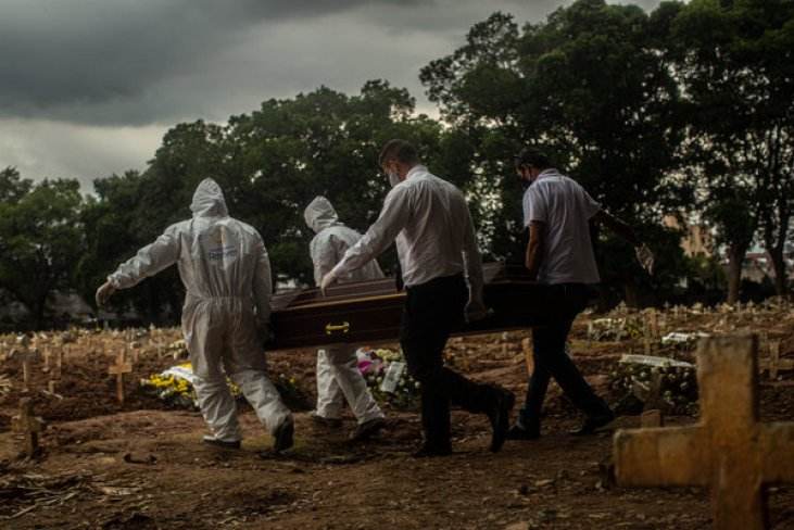 La COVID-19 ocasiona más de un millón de muertos a nivel global - The New  York Times