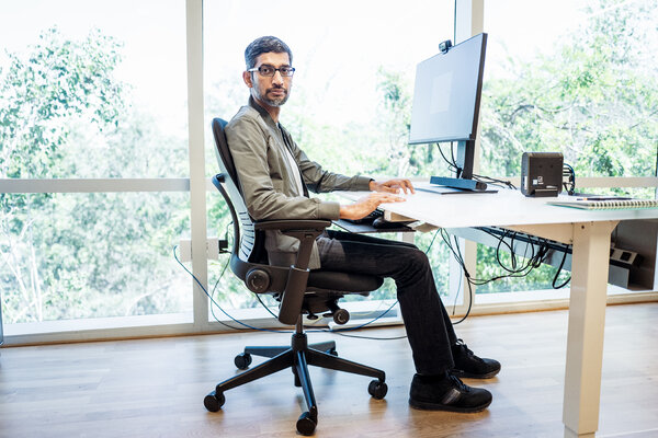 Sundar Pichai, the chief executive of Google, said the company's licensing partnership with news publishers would start in Germany and Brazil and expand to other countries later.