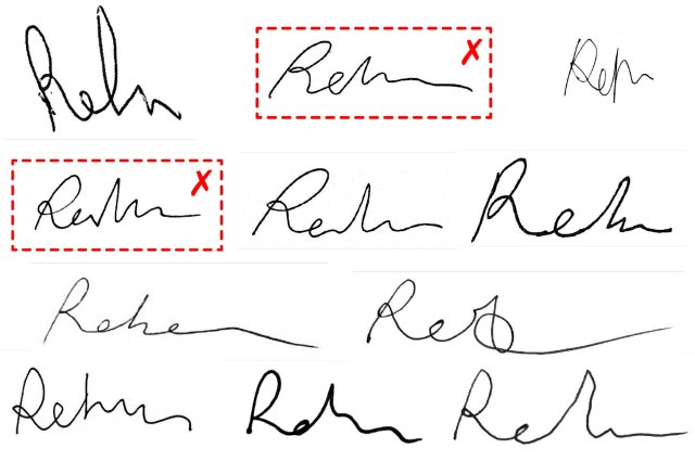 Two of These Mail Ballot Signatures Are by the Same Person. Which