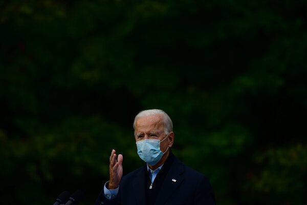 Joseph R. Biden Jr.'s campaign said he would attend the next presidential debate.