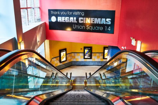Movie theaters remain shut in New York, one of several reasons the industry is under pressure.
