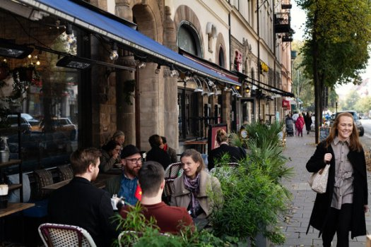When the pandemic hit, the Swedish government recommended social distancing, but it kept schools open along with shops, restaurants and nightclubs.