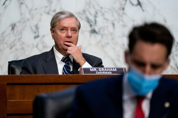 Senator Lindsey Graham of South Carolina, who is locked in a tight re-election battle, found himself on the defensive for remarks about race for the second time in a week.