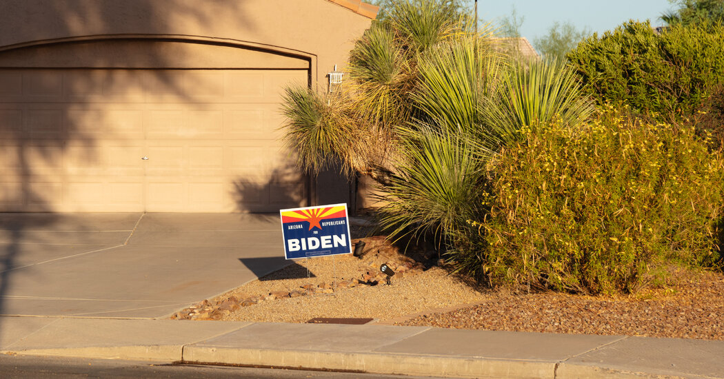 Mormons, some of whom find Trump's behavior at odds with their religion, could help lift Biden to victory in Arizona.