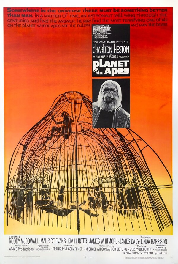 """Mr. Benguiat's typefaces were seen in """"Planet of the Apes"""" and other movies."""