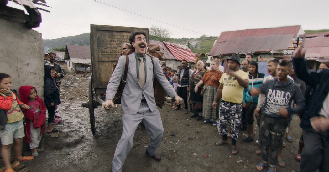 The 'Borat' Sequel's 3 Wildest Scenes: Here's What Happens