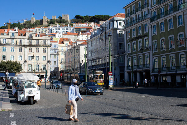In Lisbon, the capital of Portugal, the government is renting empty apartments and subletting them as subsidized housing.