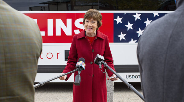 Senator Susan Collins, Republican of Maine, clashed on Wednesday with Sara Gideon, her Democratic opponent and the speaker of the state house, in the final debate of the race.