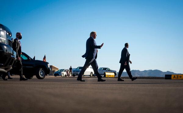 Both President Trump and Joseph R. Biden Jr. are heading Tampa, Fla., on Thursday.
