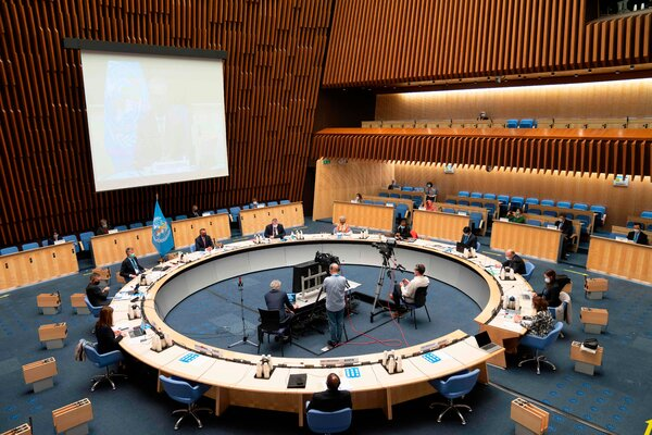 The World Health Organization held a special session of its executive board this month in Geneva. Public health experts have cautioned the United States against quitting the international body.