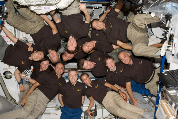 More astronauts and cosmonauts than basketball players on a court in 2009.