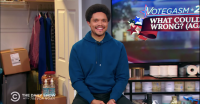 Trevor Noah and Stephen Colbert Bring Levity to Election Specials