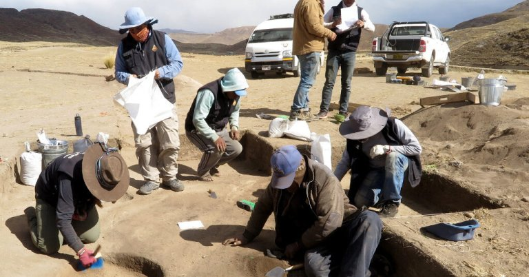 Ancient Remains in Peru Reveal Female Big-Game Hunter