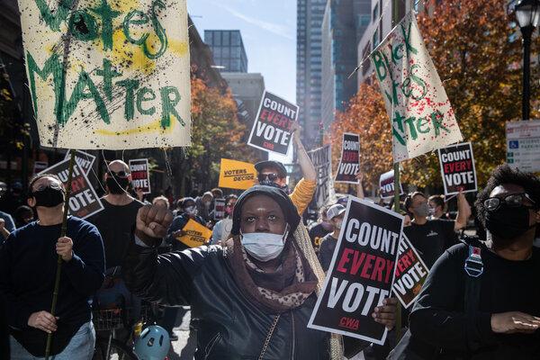Zhanon Morales apoyó el recuento de votos que se realiza en Filadelfia.