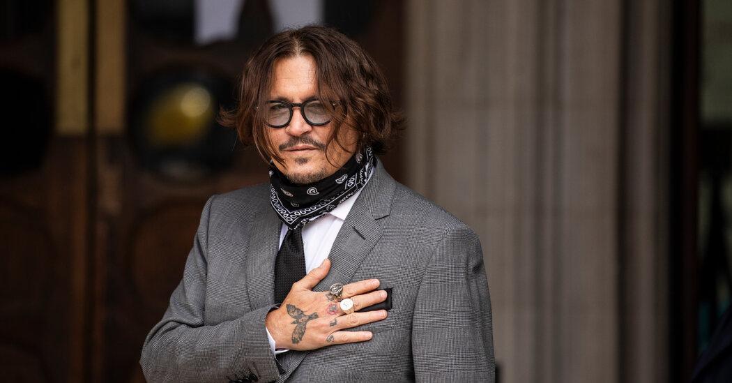 Johnny Depp Leaves 'Fantastic Beasts' Franchise at Studio's Request