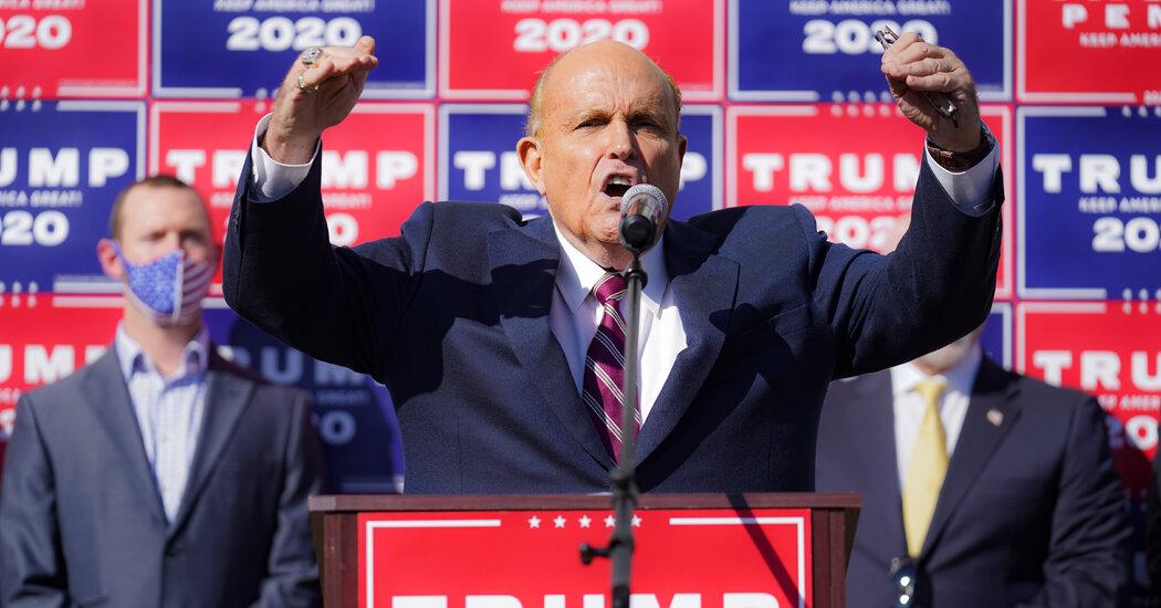 False Claims That Biden 'Lost' Pennsylvania Surge