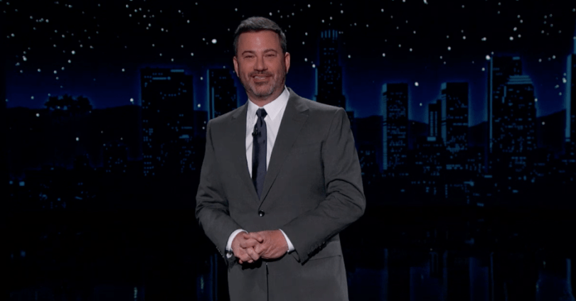 Jimmy Kimmel Calls Giuliani the 'Gift That Keeps on Grifting'
