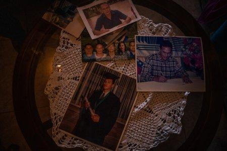 Fotos familiares de Bislick, asesinado en agosto
