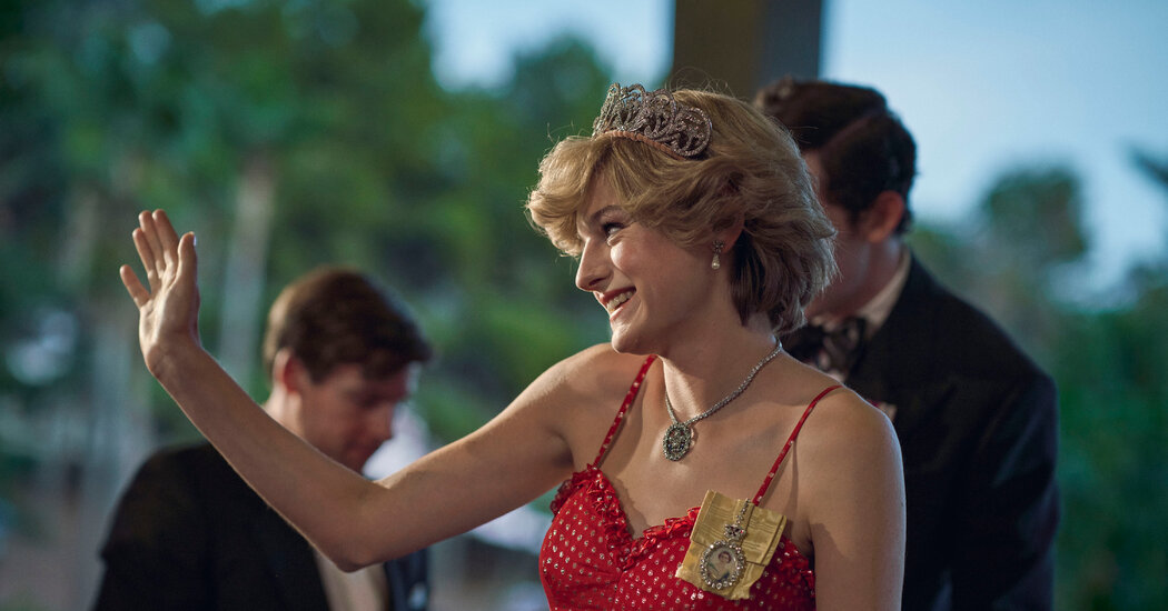 Diana's Dresses on The Crown, a Fashion Horror
