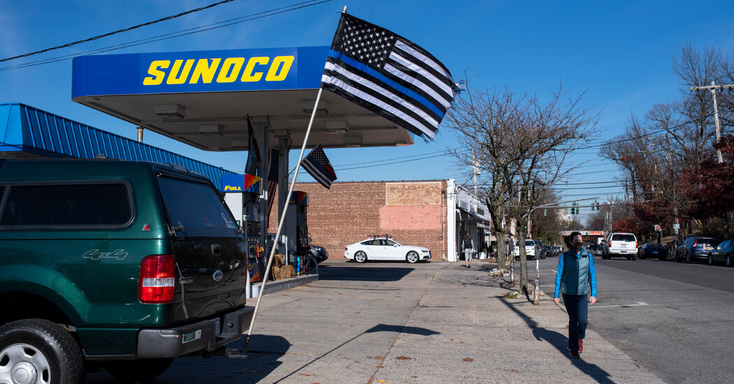What Happened When a School District Banned Thin Blue Line Flags