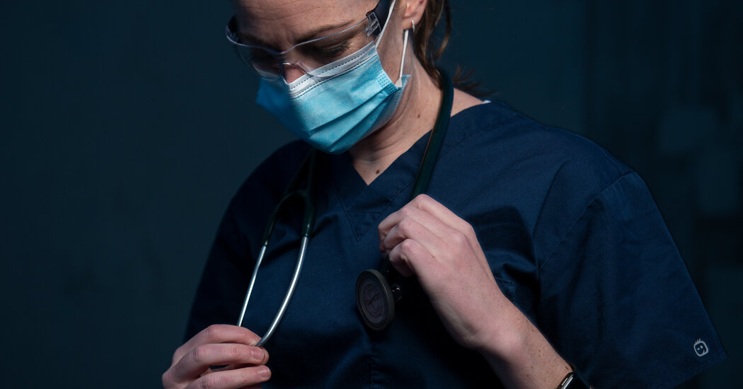 Covid Combat Fatigue: Doctors and Nurses Are Running on Empty