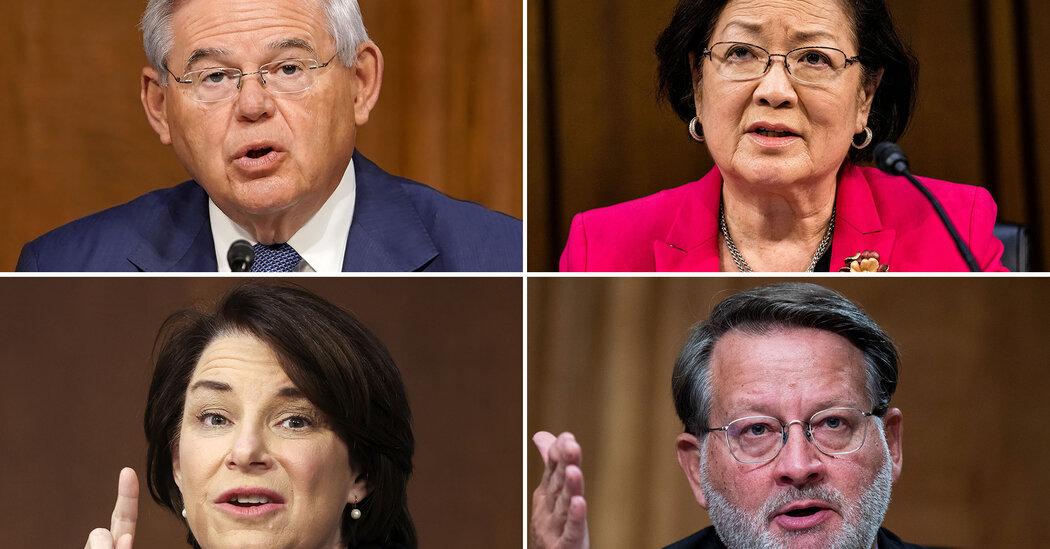 Democratic senators urge YouTube to remove election misinformation videos.