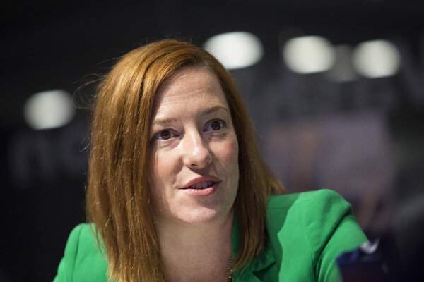 Jennifer Psaki, 41, previously served as the White House communications director and as the State Department spokeswoman in the Obama administration.