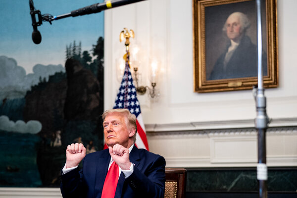 Mr. Trump's talk of a 2024 race has already frozen the Republican field and could delay the emergence of a new generation of leaders.