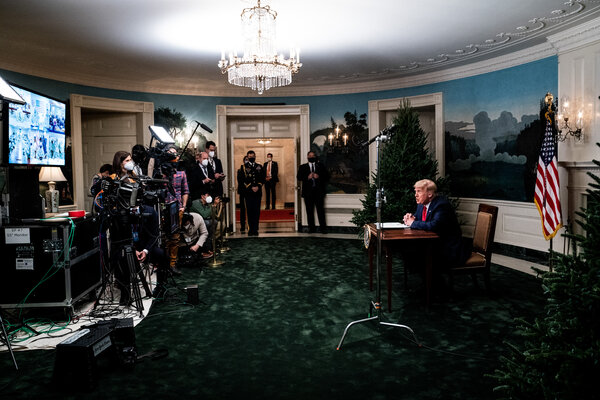 """President Trump has claimed that he has """"the absolute right to pardon myself."""""""