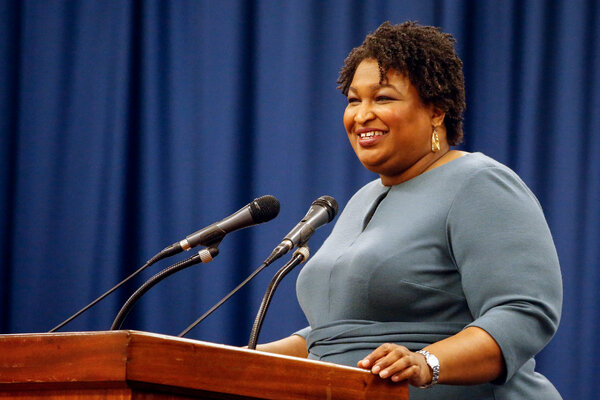 Stacey Abrams's work in Georgia has inspired a handful of romance novelists to raise money for the Senate runoff in January.
