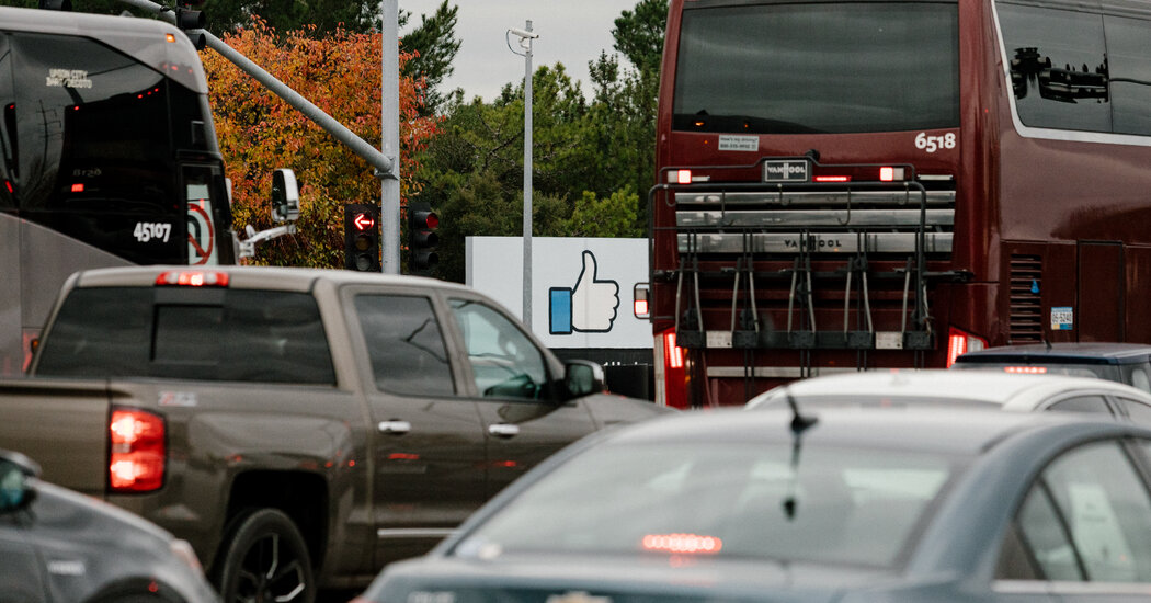 Justice Dept. Suit Says Facebook Discriminates Against U.S. Workers