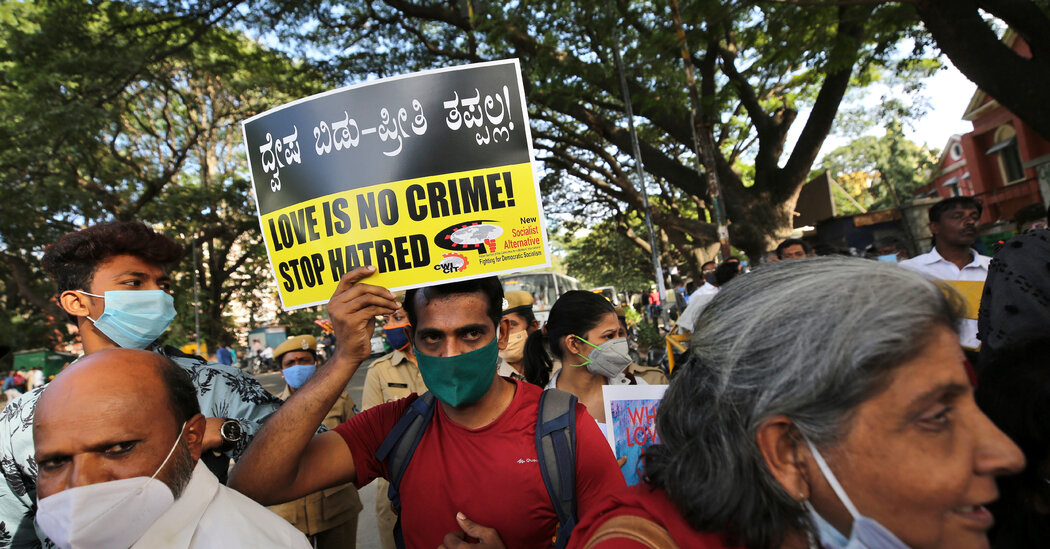 Police in India Make First Arrest Under New Interfaith Marriage Law